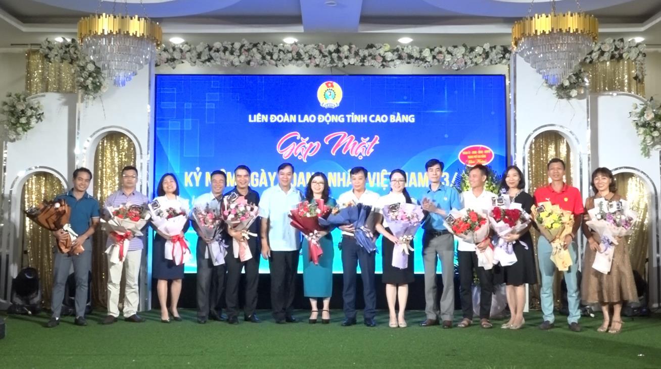 Liên đoàn Lao động tỉnh: Gặp mặt doanh nghiệp nhân kỷ niệm Ngày Doanh nhân Việt Nam