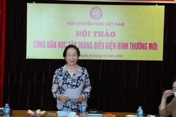 Hội Khuyến học Việt Nam đẩy mạnh tuyên truyền khuyến học, khuyến tài, xây dựng xã hội học tập