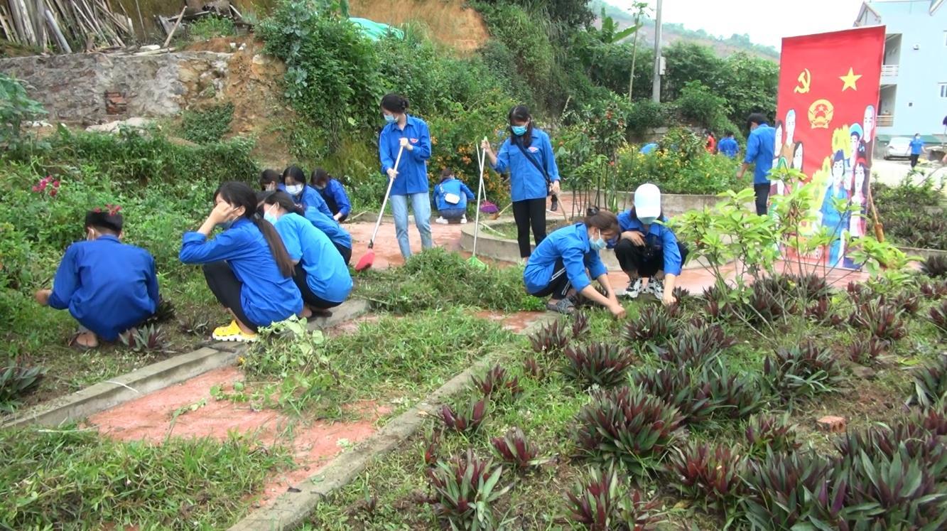 Toàn tỉnh duy trì 55 đội hình thanh niên tình nguyện bảo vệ môi trường