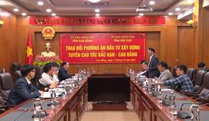 Đề xuất phương án xây dựng tuyến cao tốc Bắc Kạn - Cao Bằng