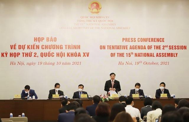 Kỳ họp thứ 2, Quốc hội khóa XV xem xét, thông qua nhiều nội dung quan trọng