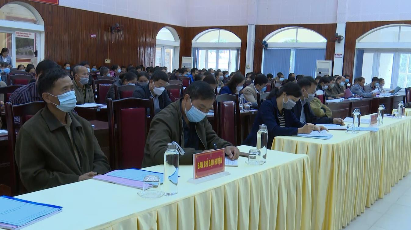 Hòa An: Tập huấn rà soát hộ nghèo, hộ cận nghèo giai đoạn 2022 - 2025