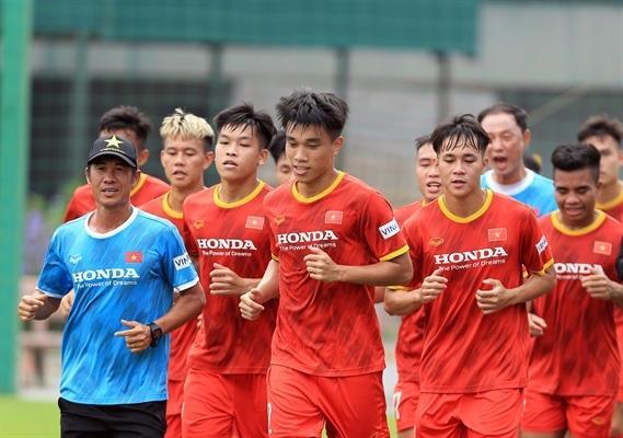 23 cầu thủ dự vòng loại châu Á 2022