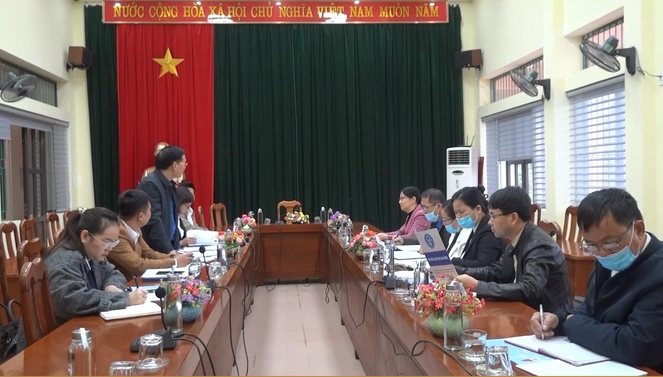 Kiểm tra việc thực hiện chính sách bảo hiểm xã hội, bảo hiểm y tế tại huyện Hà Quảng