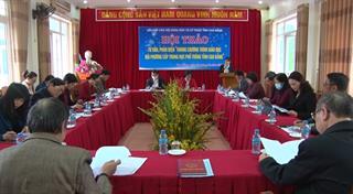 """Hội thảo tư vấn, phản biện """"Khung chương trình giáo dục địa phương cấp THPT tỉnh Cao Bằng"""""""