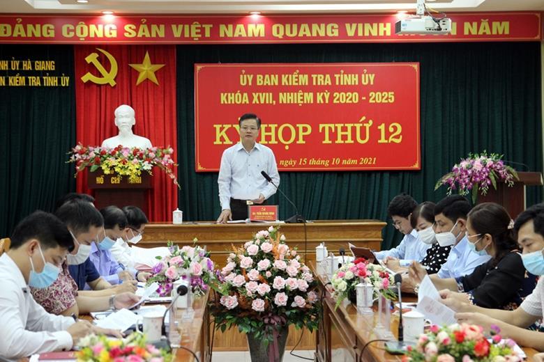 Hà Giang: Kỷ luật nhiều cán bộ gây thất thoát nguồn vốn đầu tư của Nhà nước