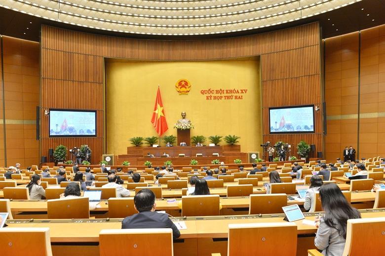 Quốc hội xem xét việc tổ chức phiên tòa trực tuyến