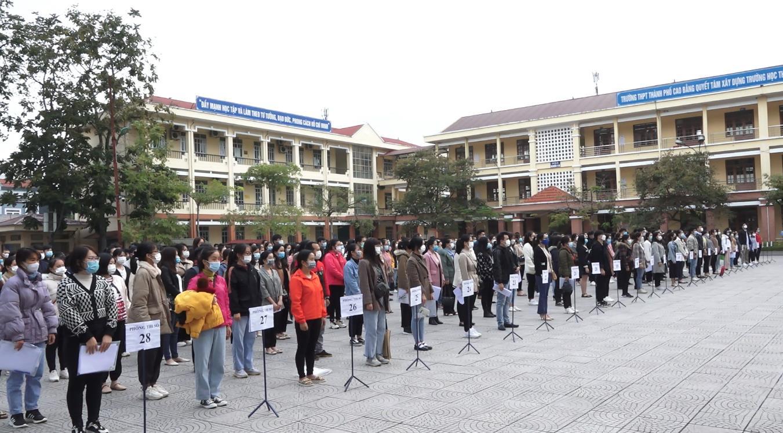 Hơn 1.000 thí sinh dự tuyển kỳ thi tuyển dụng công chức, viên chức năm 2021