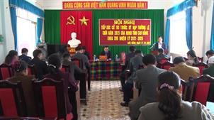Tổ đại biểu HĐND tỉnh tiếp xúc cử tri huyện Trùng Khánh